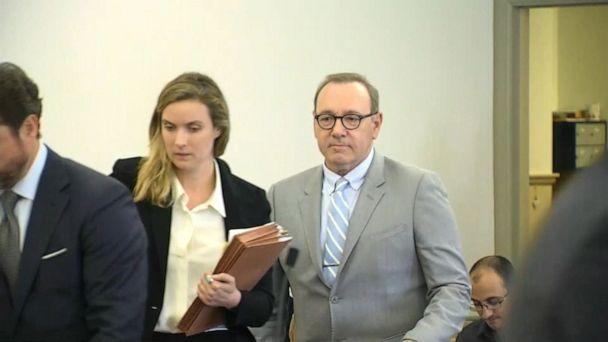 Kevin Spacey accuser testifies in court