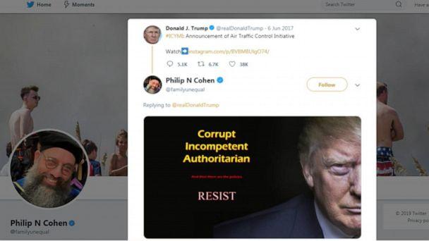 Outspoken Twitter user blocked by President Trump speaks out