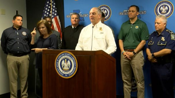 Louisiana governor gives update on storm system heading towards the state