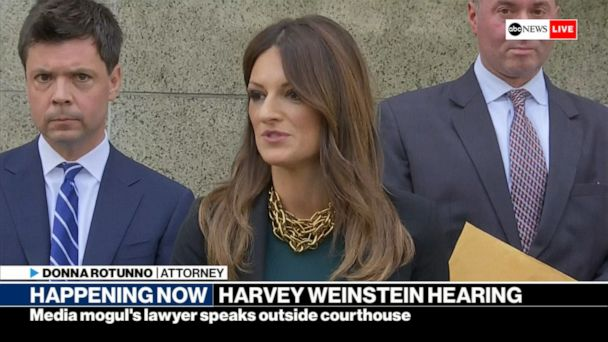 Harvey Weinstein 'railroaded' by #MeToo, new lawyer says