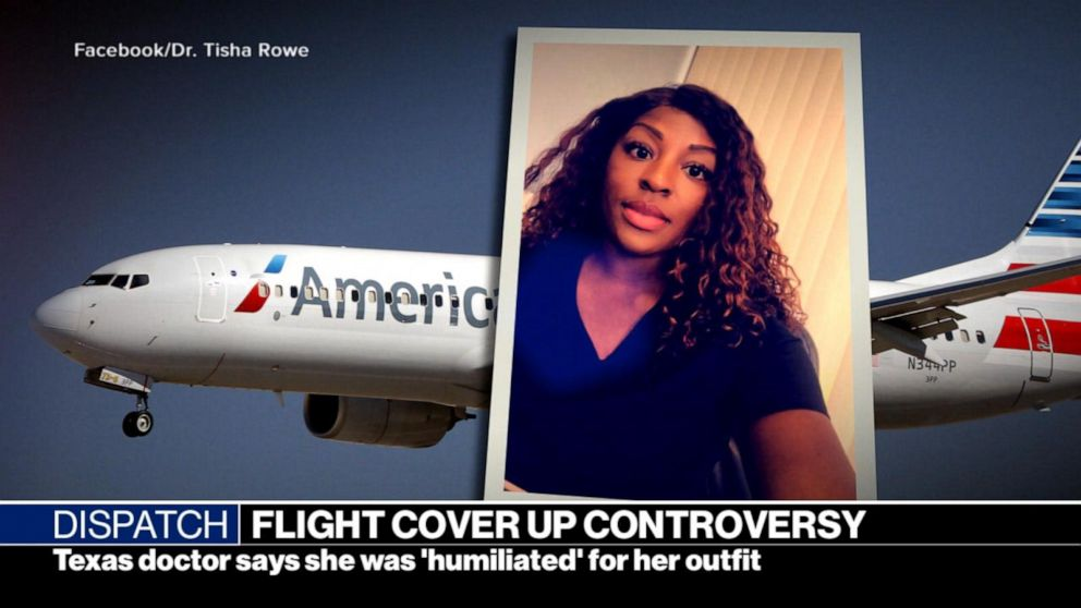Woman Removed From American Airlines Flight Speaks Out Video Abc News