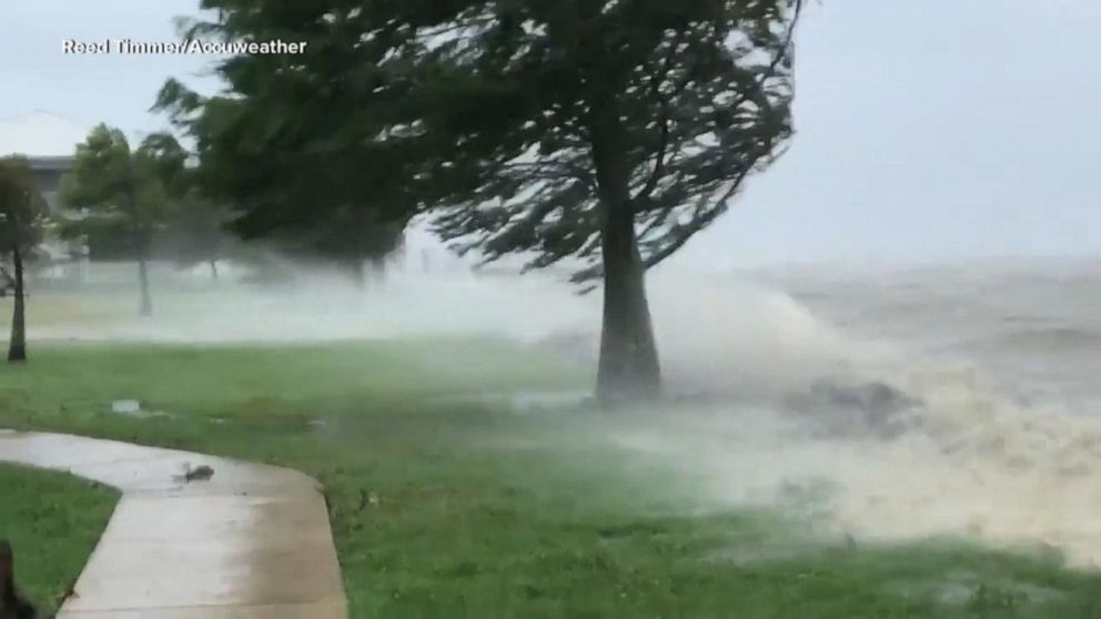 After Rains Fog Rolls Into Madison >> Barry Makes Landfall Dangerous Rain Moves In Gma