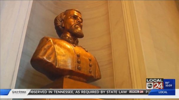 Tennessee honors Confederate general, slave trader