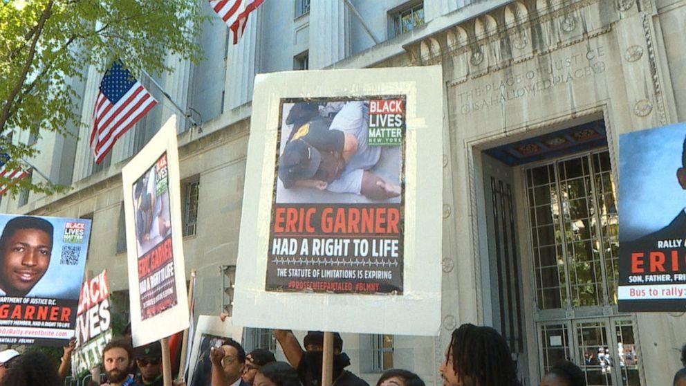 DOJ declines federal charges in Eric Garner case