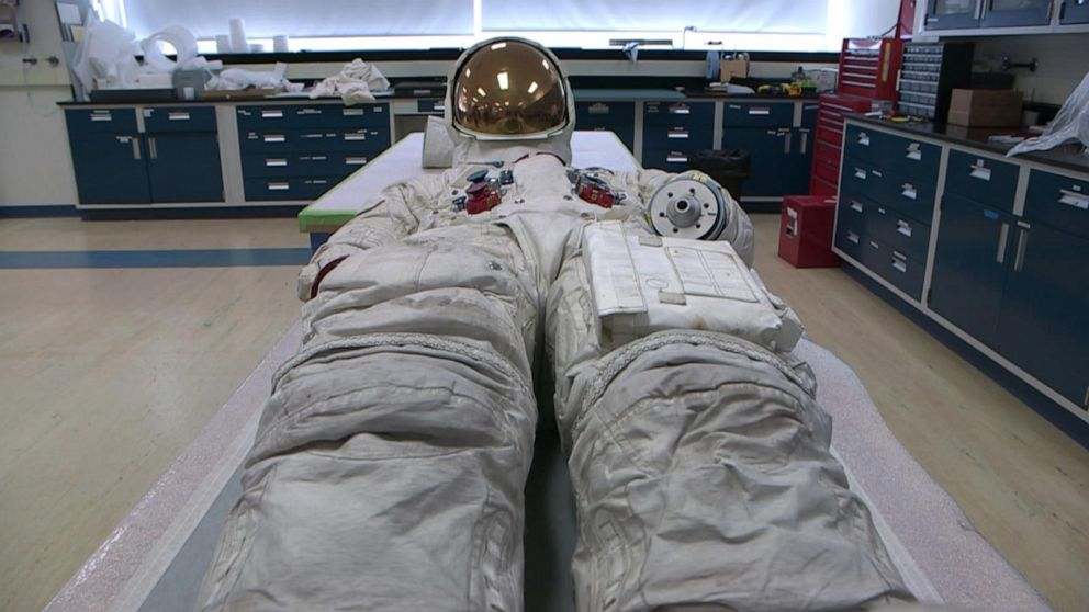 50 Years Later: Neil Armstrong's spacesuit on display for 1st time in more than a decade