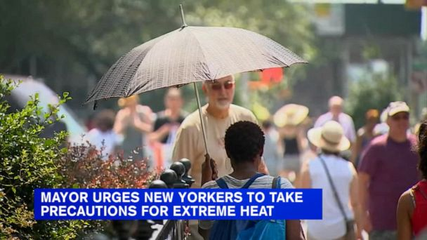 Massive heat wave forecast to hit NYC