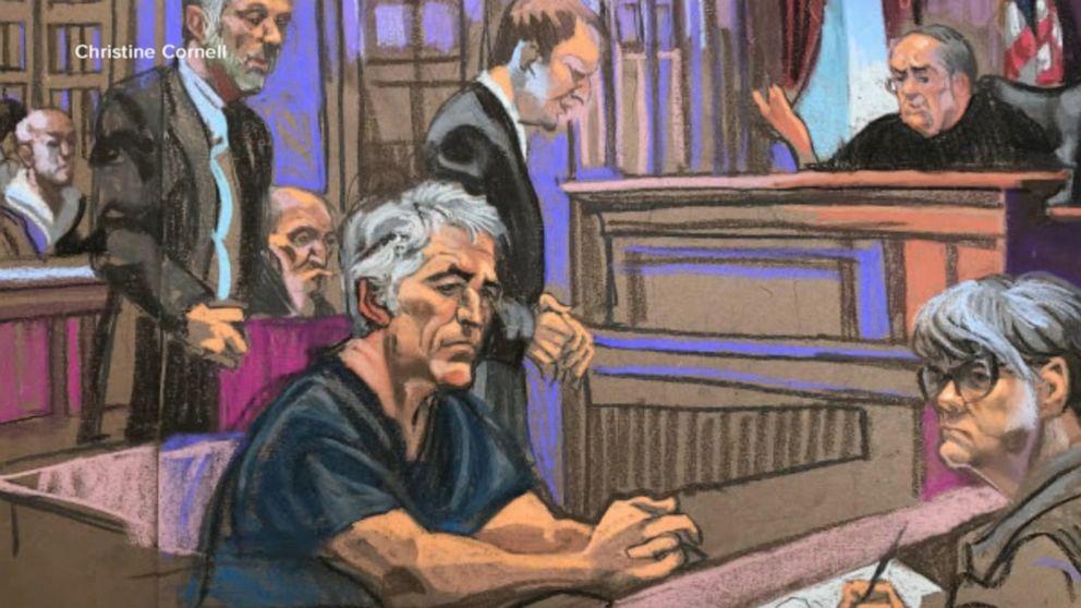 Accused sex trafficker Jeffrey Epstein denied bail