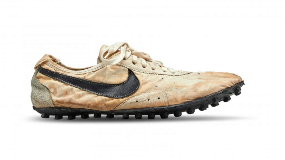 Rare Nike 'Moon Shoe' auctions for