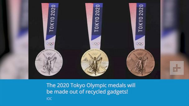 2020 Olympic medals to be made from recycled electronics