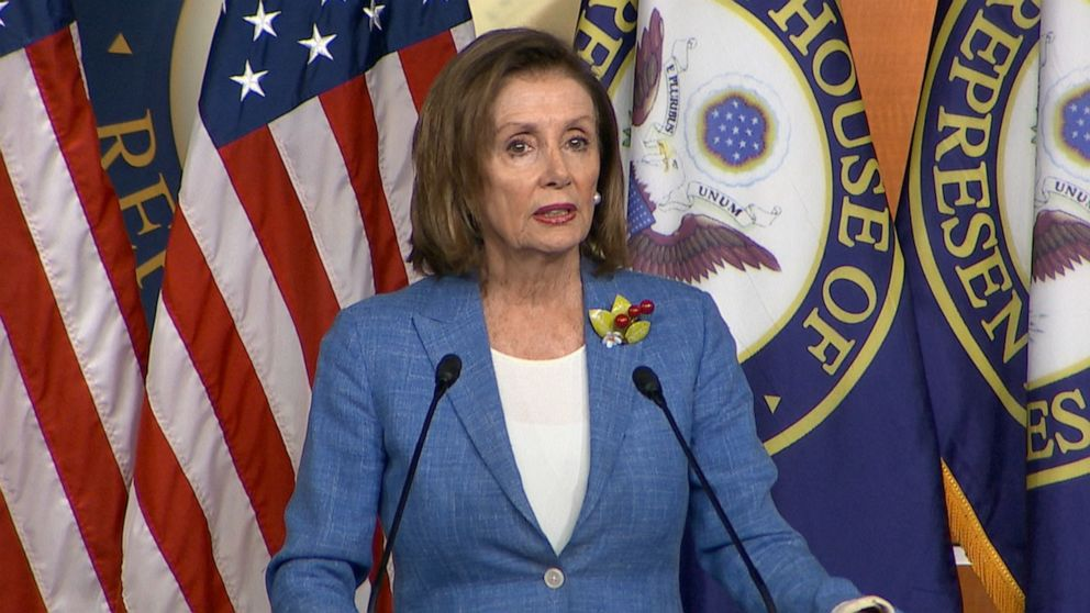 Pelosi says she's 'not trying to run out the clock' on Trump impeachment