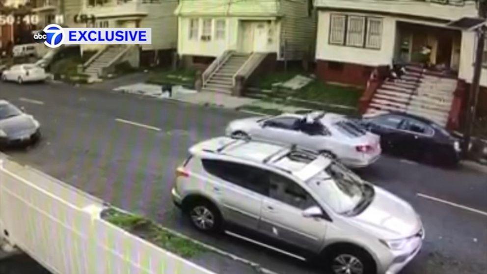 Video shows gunmen spray bullets on New Jersey porch