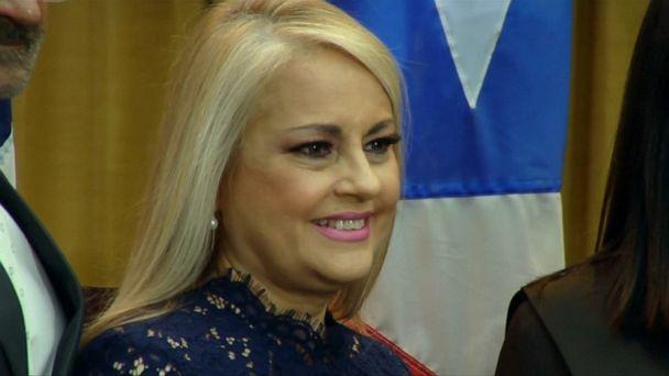 Wanda Vazquez sworn in as Puerto Rico's new governor