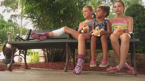 9-year-old girl bitten in apparent shark attack