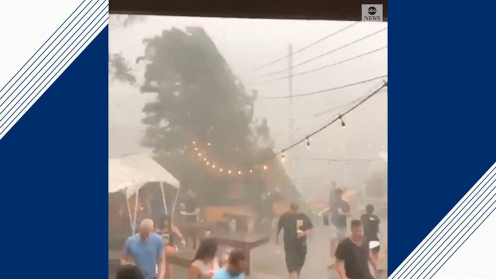 Storm sends Pittsburgh brewery patrons running for cover