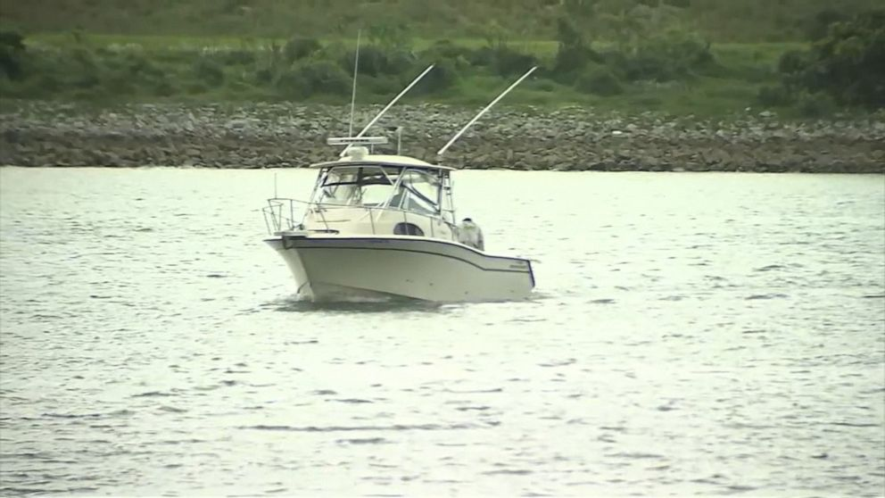 Bag found by searchers looking for Florida firefighters who vanished on fishing trip
