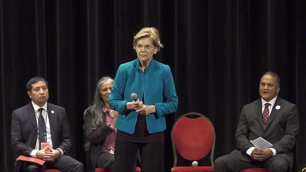 Sen  Elizabeth Warren at Native American forum: 'I am sorry