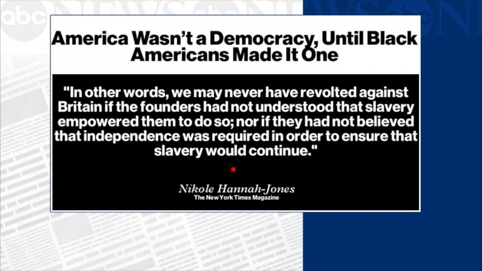 Marking 400 years since slavery began in US