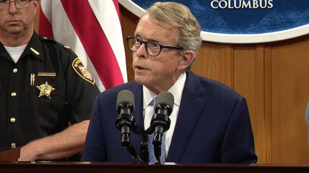 Ohio governor pushes for stronger background checks following Dayton shooting