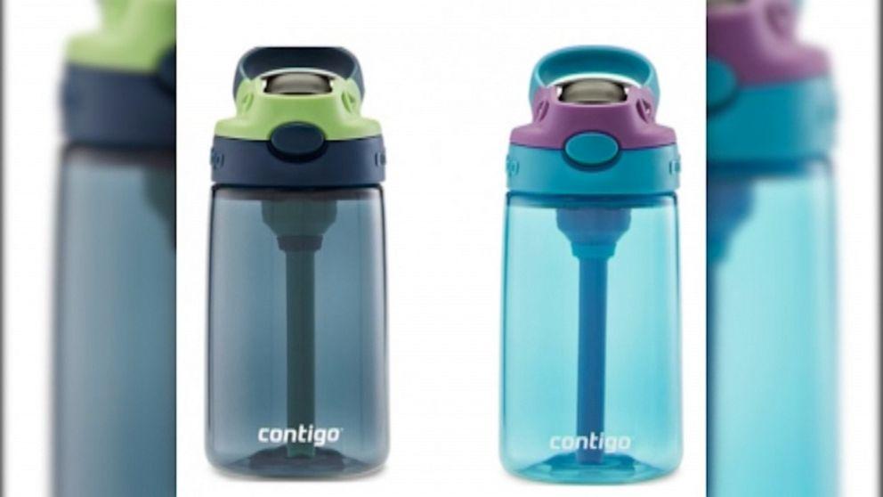 Contigo recalls cleanable water bottles for kids over