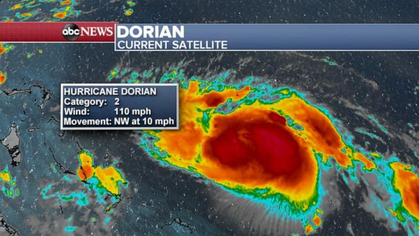 The Latest: Dorian causes over 1,000 flight cancellations