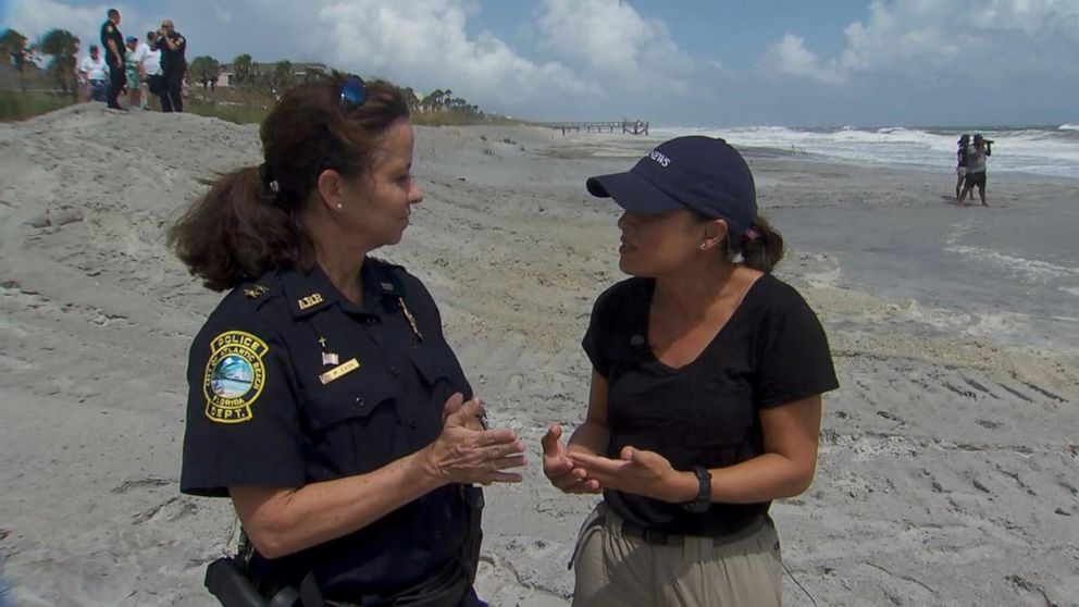 Florida police chief urges residents to take caution ahead of storm