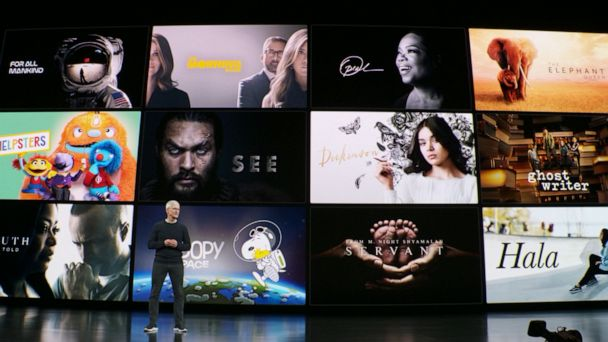 Apple unveils new products and services