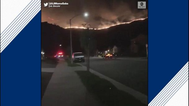 Horseshoe Fire continues to burn in California