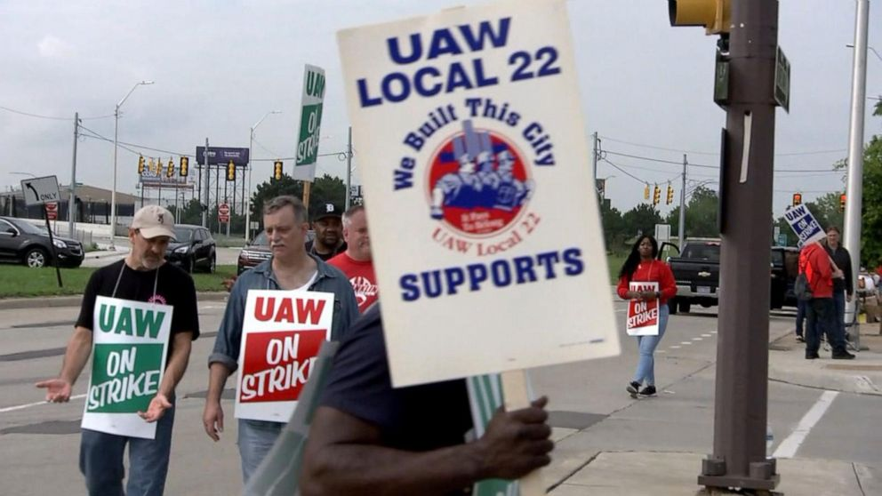 General Motors employees go on strike