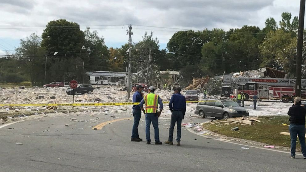 Veteran fire captain killed in massive explosion that demolished Maine building