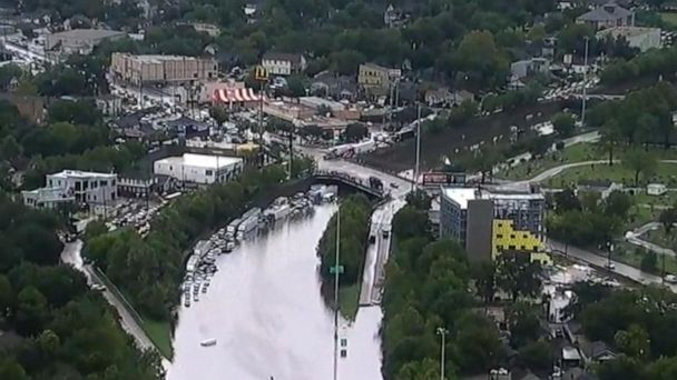Major flooding in Texas claims at least two lives