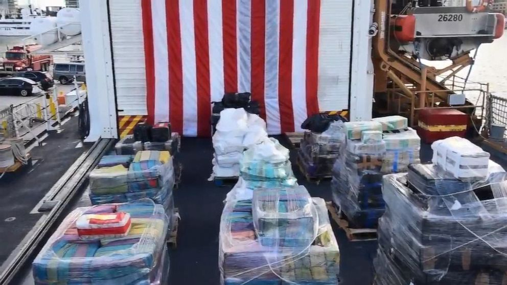 $377 million drug bust includes almost 40,000 combined pounds of cocaine and marijuana