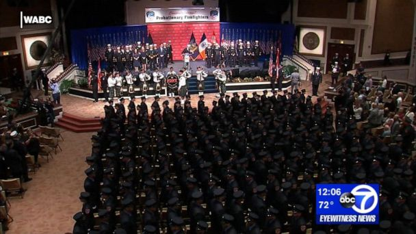 13 children of fallen 9/11 firefighters graduate from FDNY academy