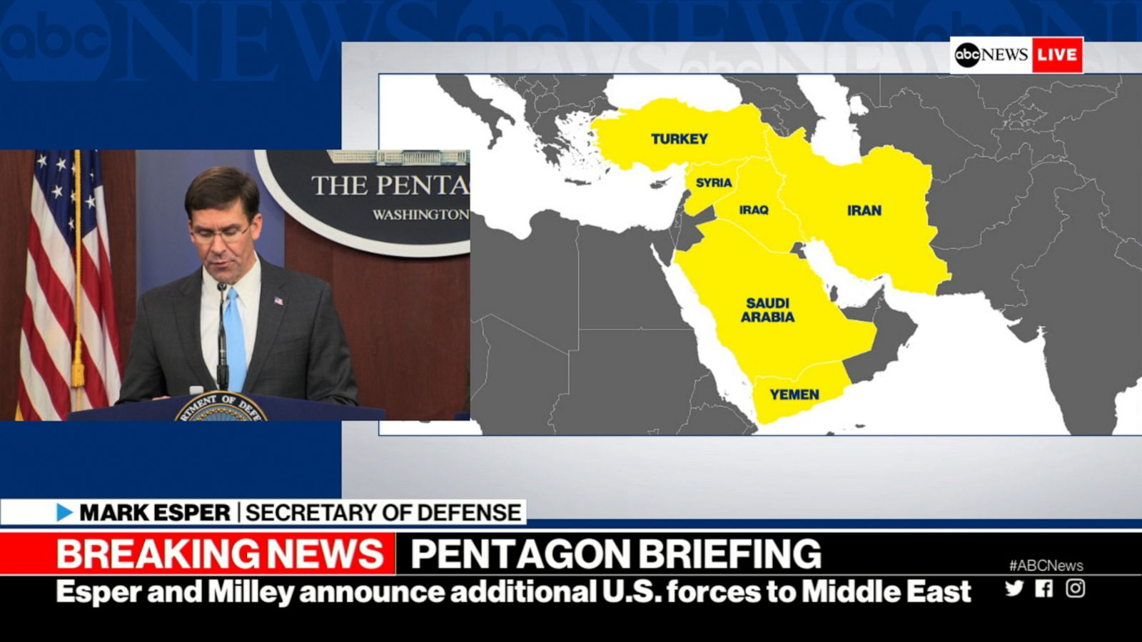Thousands of US troops deploying to Saudi Arabia: Pentagon ...