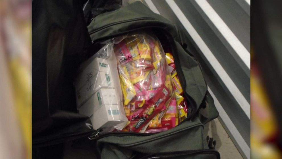 Police warn against THC-laced Halloween candy