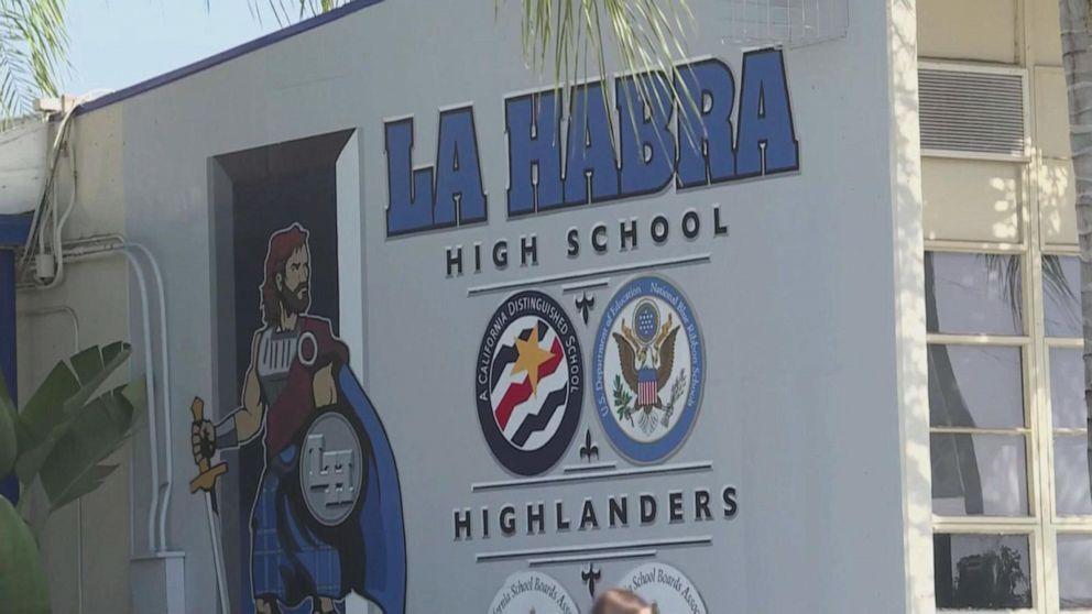 Students tackle gunman at California high school, police say