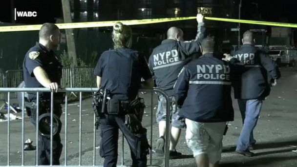 Suspect in custody for NY street festival shooting