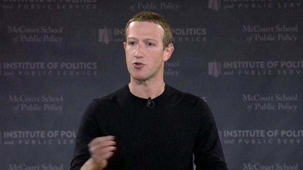 Facebook CEO defends political advertisements in rare speech