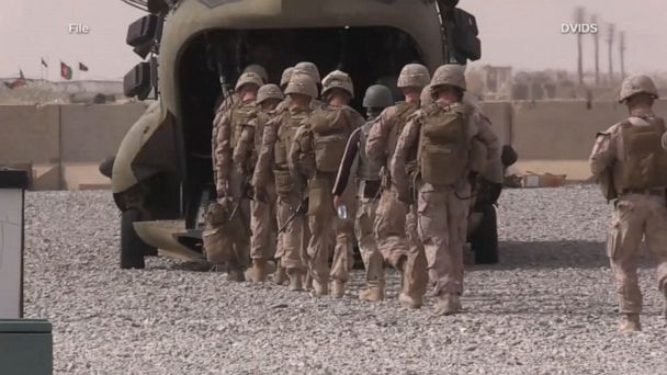 US reduced troops in Afghanistan by 2,000