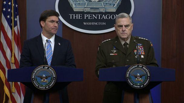 Pentagon speaks about details of al-Baghdadi's death in US raid
