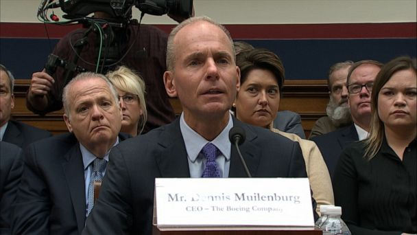 Boeing CEO apologizes for 737 Max crashes