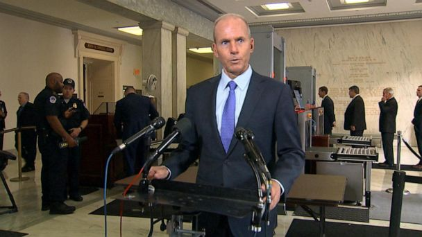 Boeing CEO gives remarks before House testimony