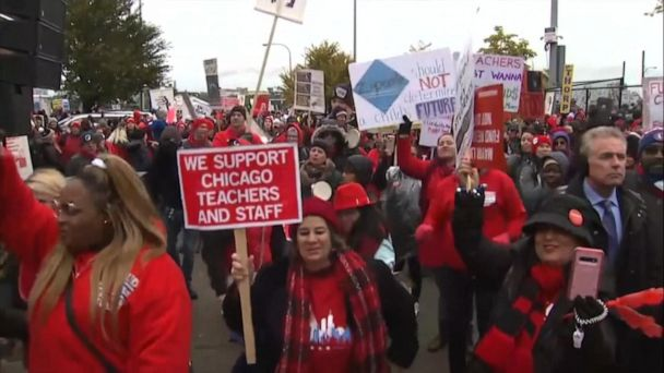 Negotiations resuming in Chicago teachers strike