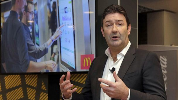 McDonald's CEO fired for relationship with employee