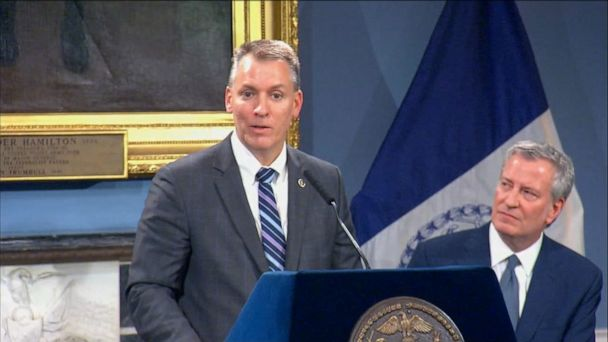 Dermot Shea named new NYPD commissioner