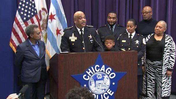 Chicago Police Superintendent Eddie Johnson announces retirement