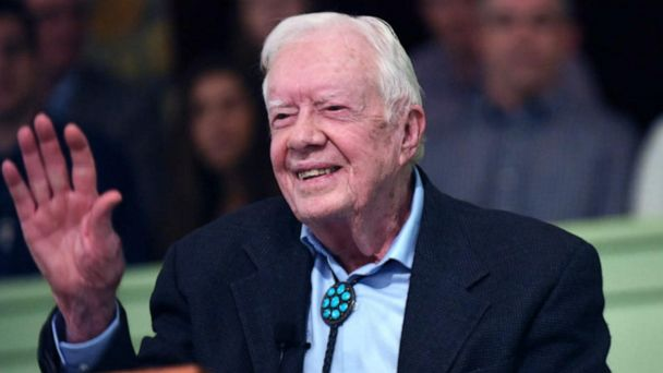 Jimmy Carter hospitalized over holiday weekend