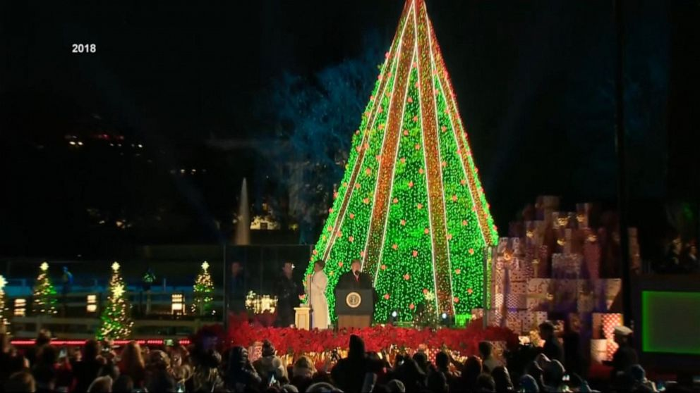 2020 National Christmas Tree President Trump and first lady will participate in National