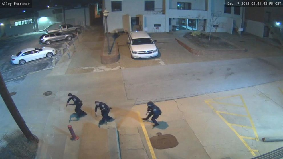 Police release surveillance video of fatal police shooting