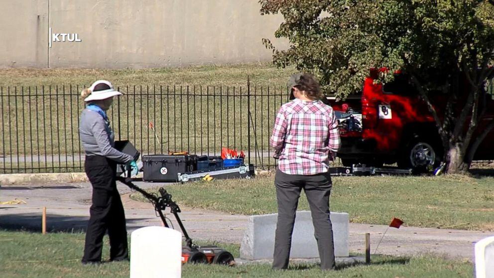UHR: Möglich Massengrab entdeckt, in Tulsa