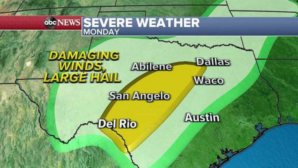 Severe Storms Across South Leaves Two People Dead